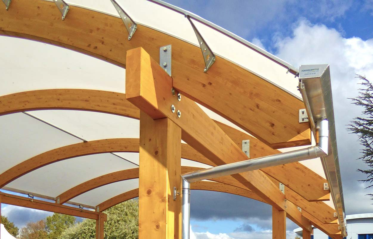 The West Bridgford School – Timber Canopy