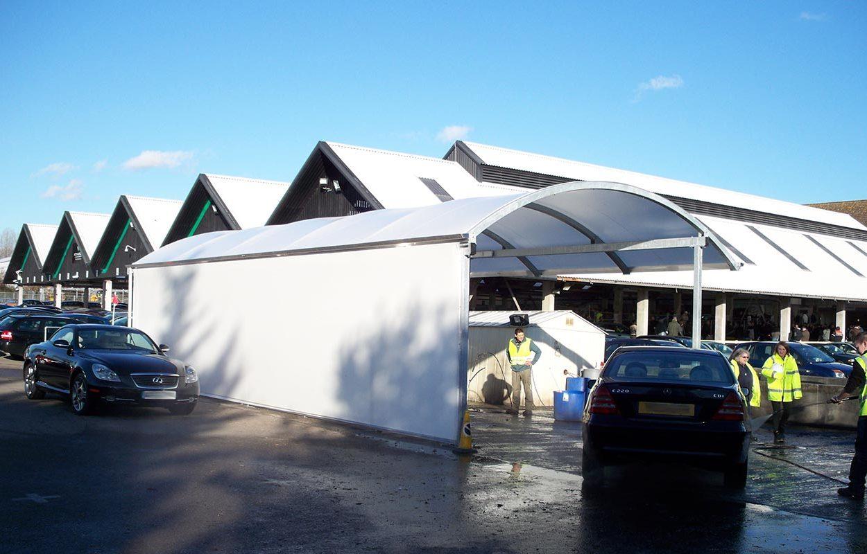 Fordingbridge Car Wash Canopy
