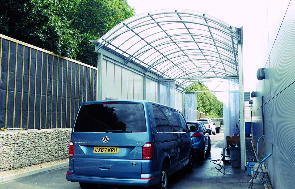 Breeze Van Centre Wash Bay Canopy
