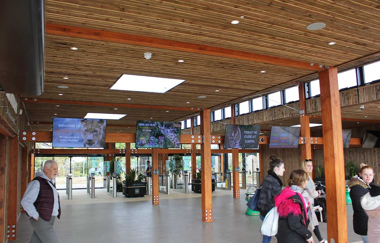 Colchester Zoo Admissions Building Interior3