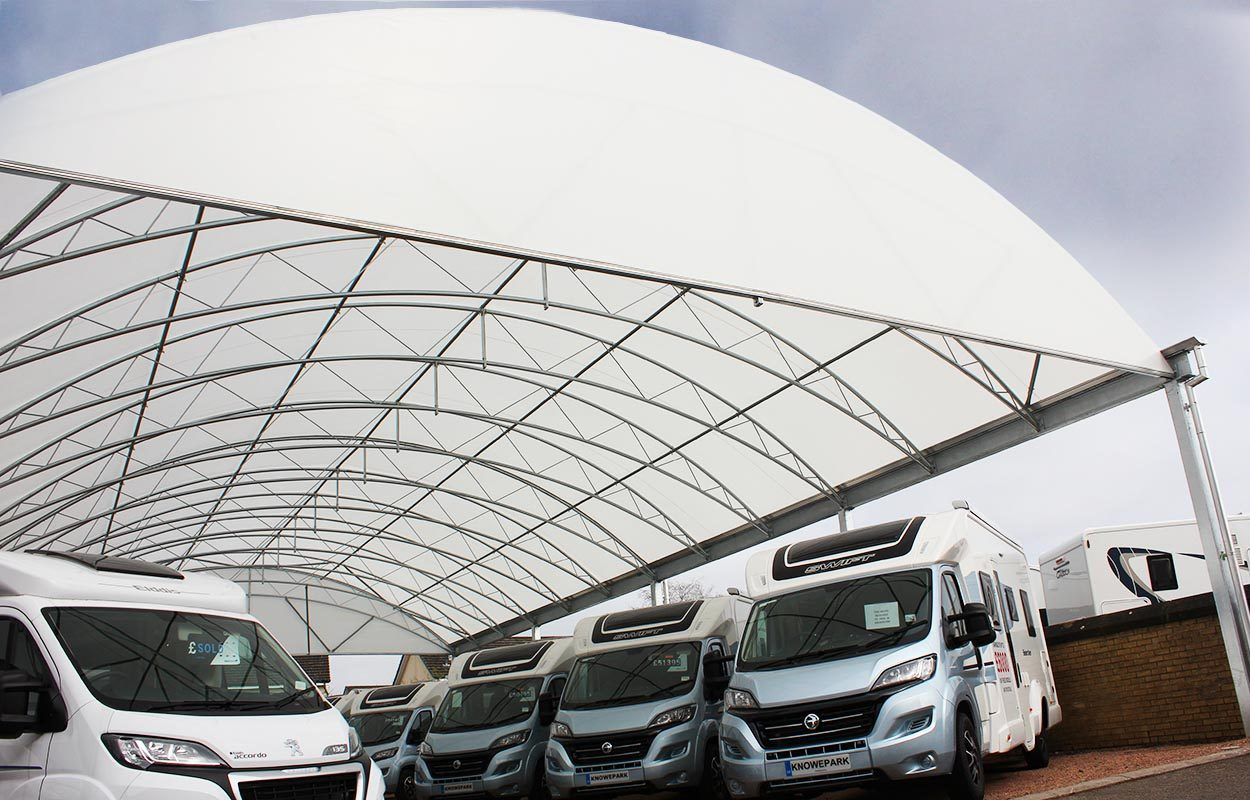 Knowepark Motorhome and Caravan Sales Showroom_web