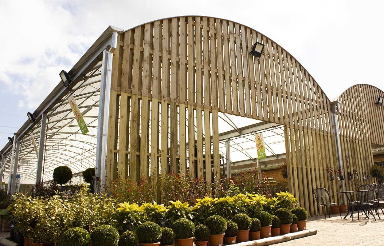 Morton Hall Klondyke Garden Centre Canopy by Fordingbridge Canopies - timber clad_web