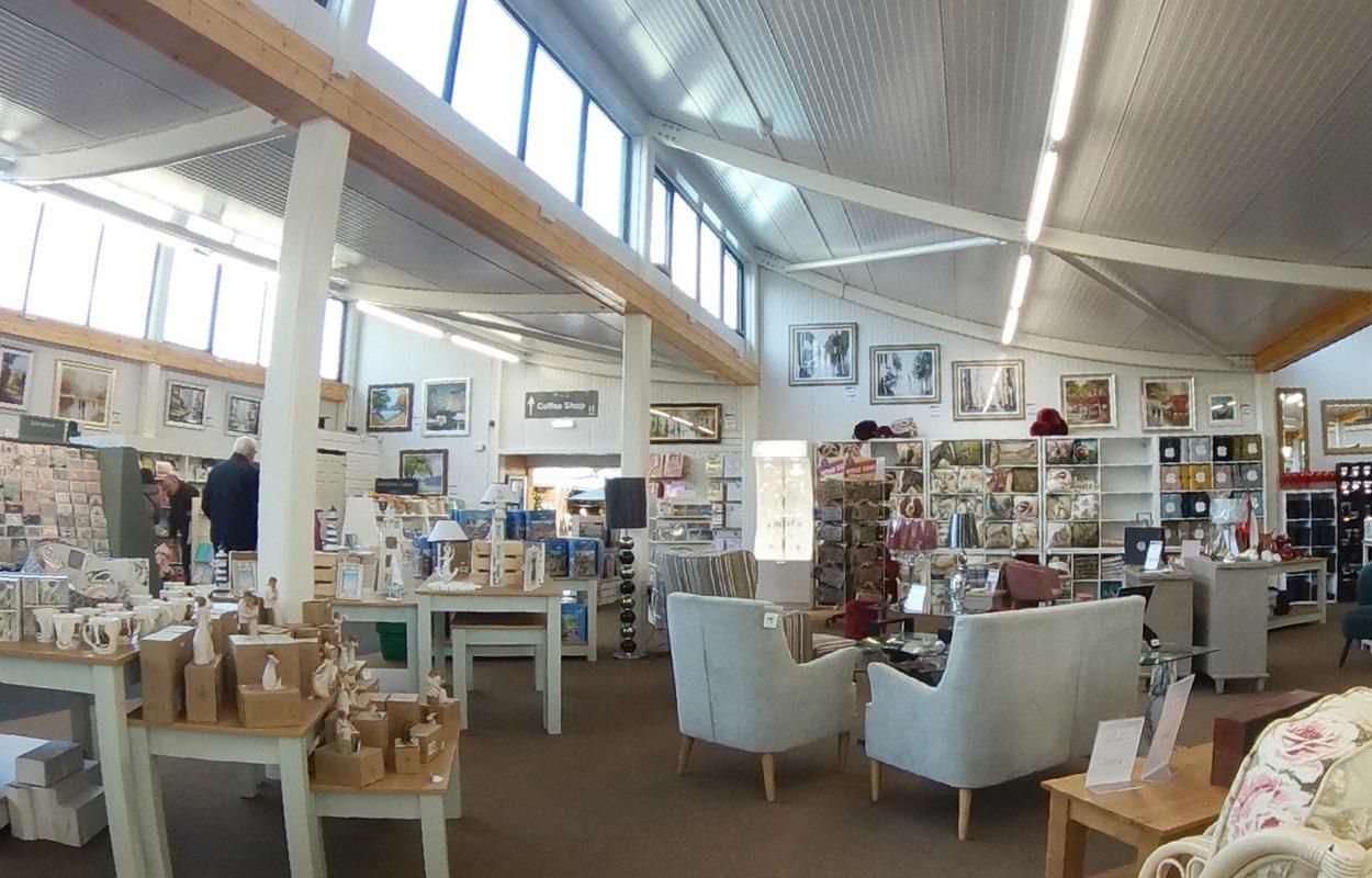 Rosebank Garden Centre - A Fordingbridge Statement Building Interior Main Entrance 3