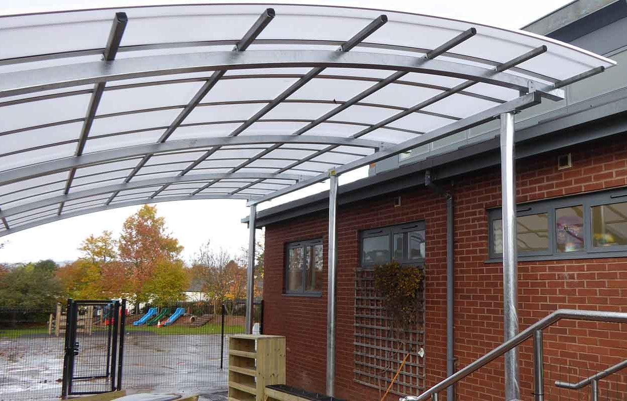 Two Moors School Canopy by Fordingbridge