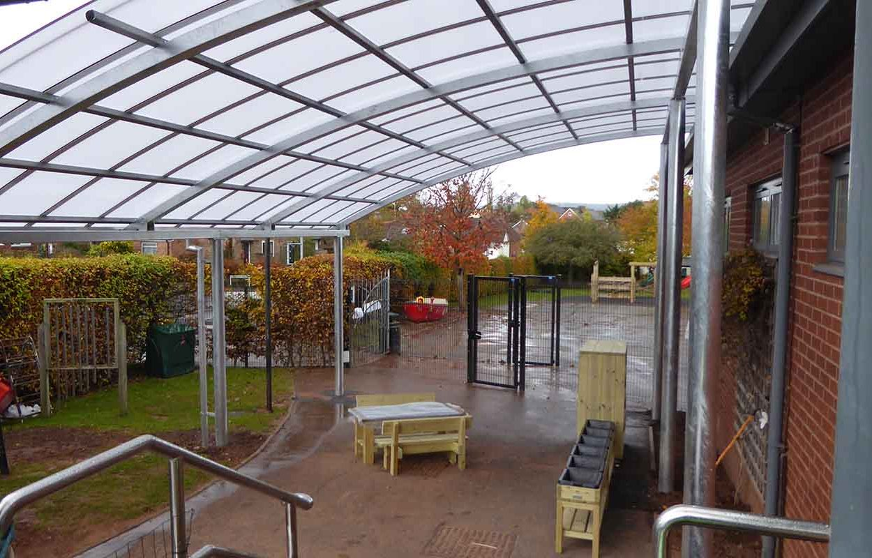 Two Moors School Canopy by Fordingbridge 3