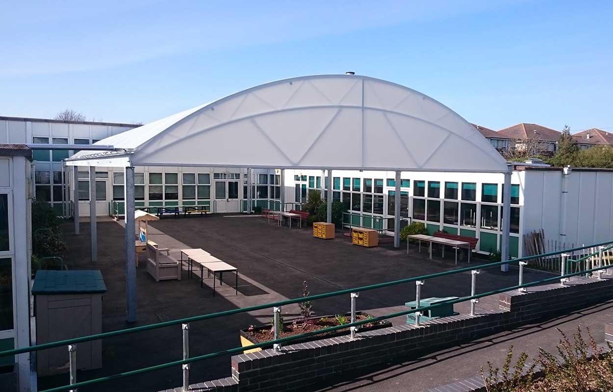 Bersted Green Primary School – Courtyard