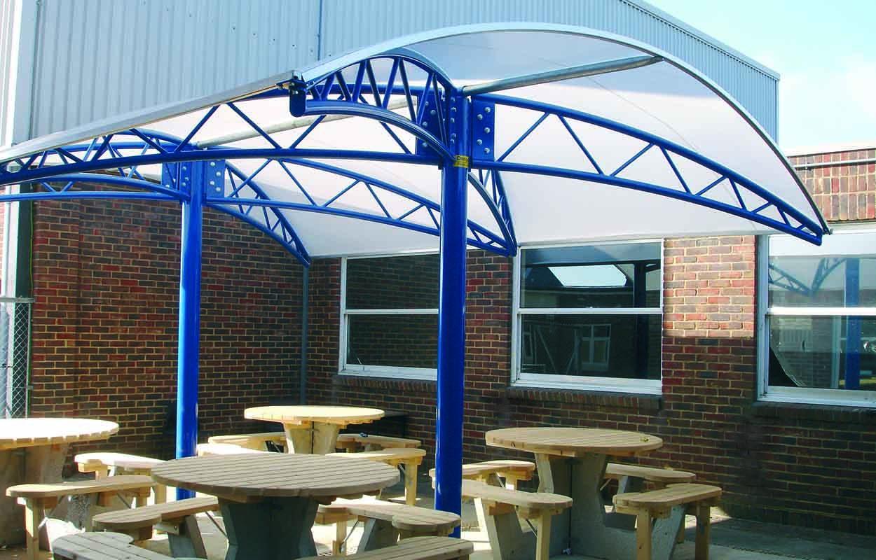 Fordingbridge Steel Canopy Angmering School