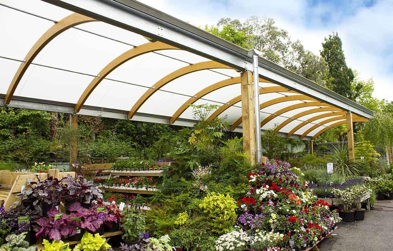 camden garden centre timber canopy london by fordingbridge