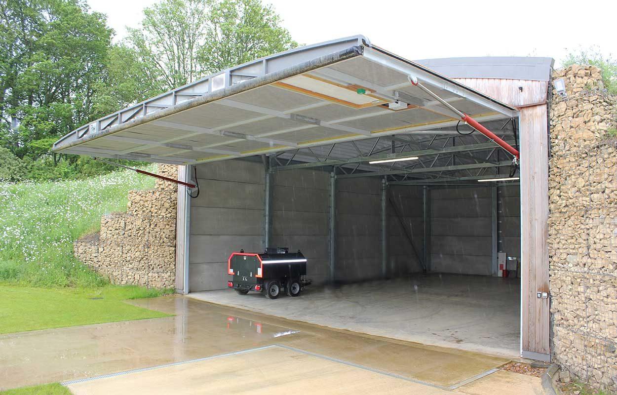 fordingbridge helicopter hangar 3
