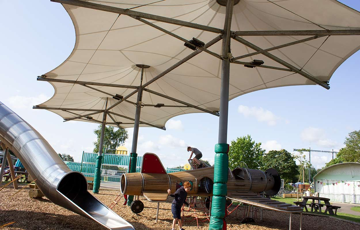 Fordingbridge-tensile-playground-canopy-at-Tattershall-Lakes