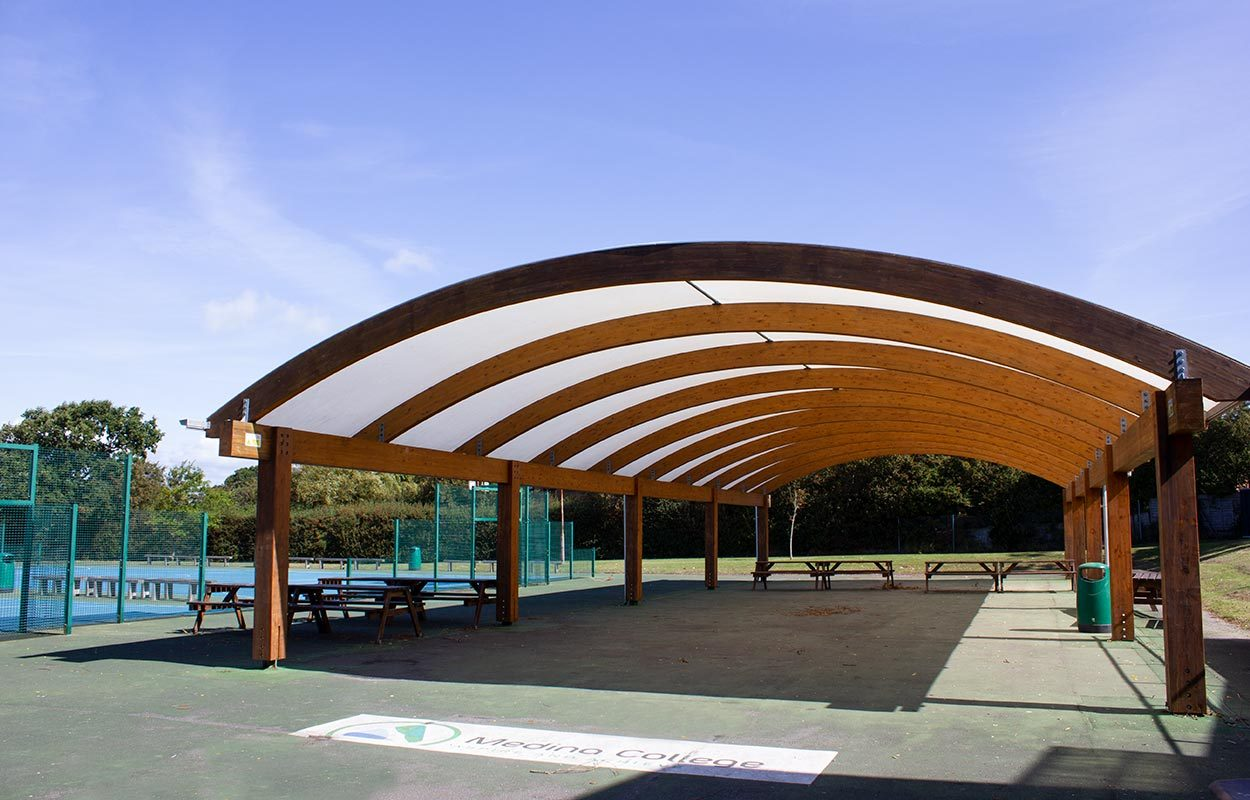 Medina-College-Isle-of-Wight-Timber-Canopy