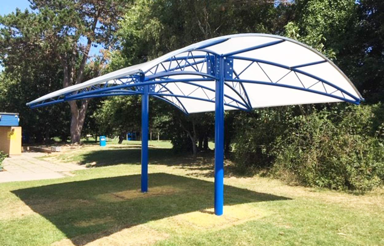 Gomer Junior School Canopy