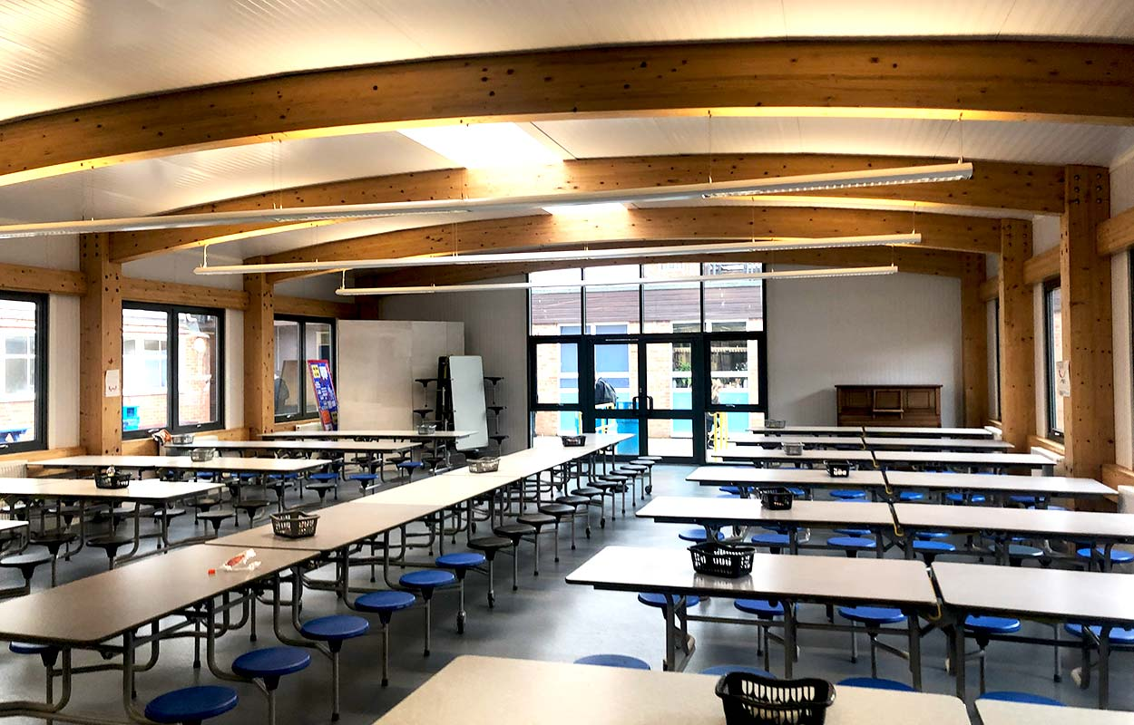 Aylesham High School Dining Hall