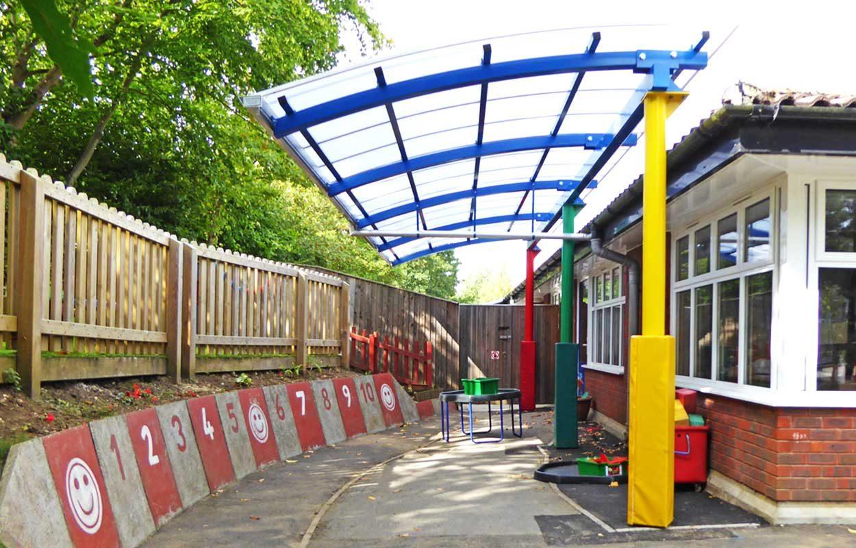 Bordon-school-multi-colour-canopy-by-Fordingbridge-2