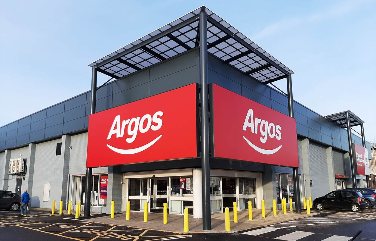 Angouleme Way Retail Park Canopies