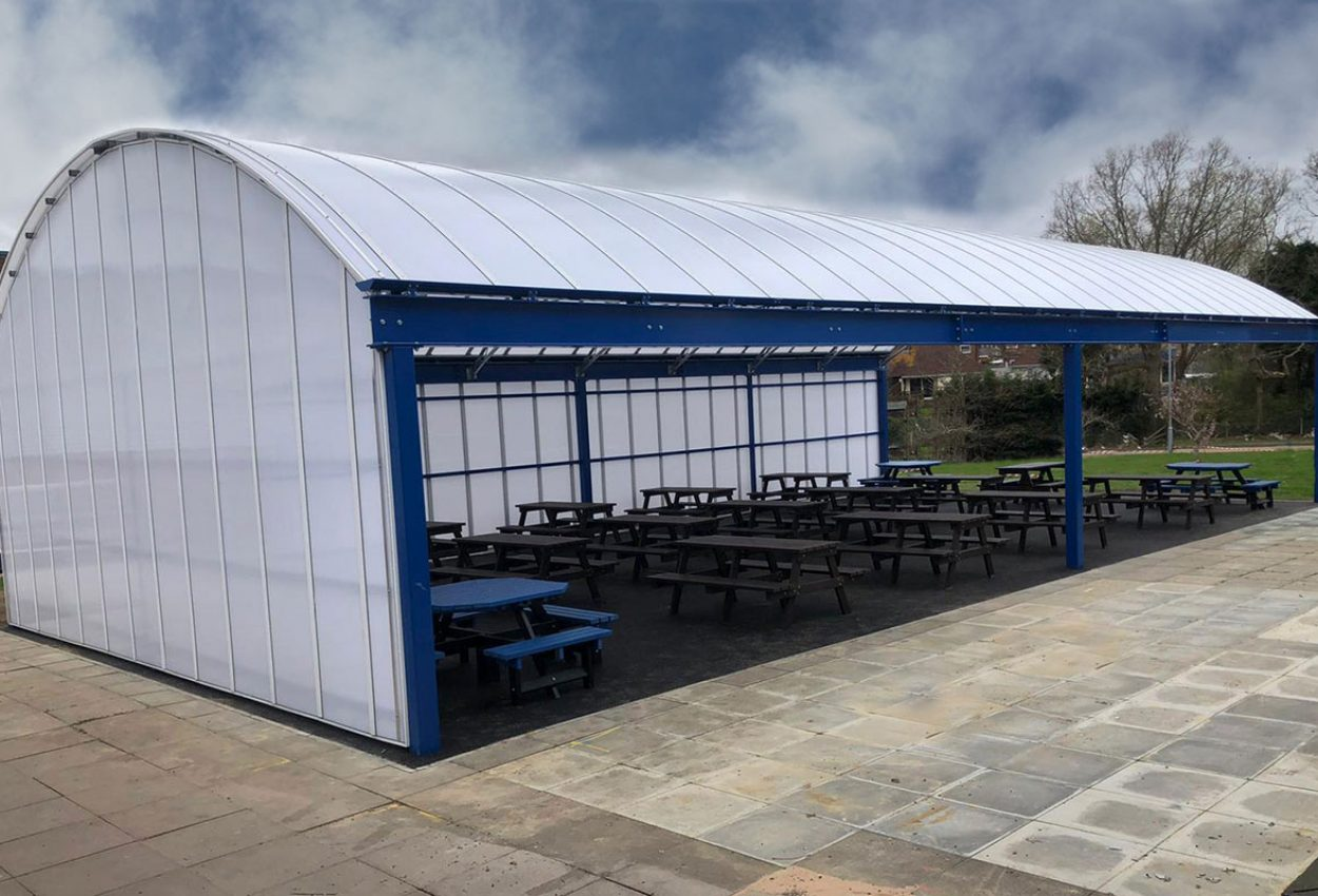 Burgess-Hill-Academy-Dining-canopy-2