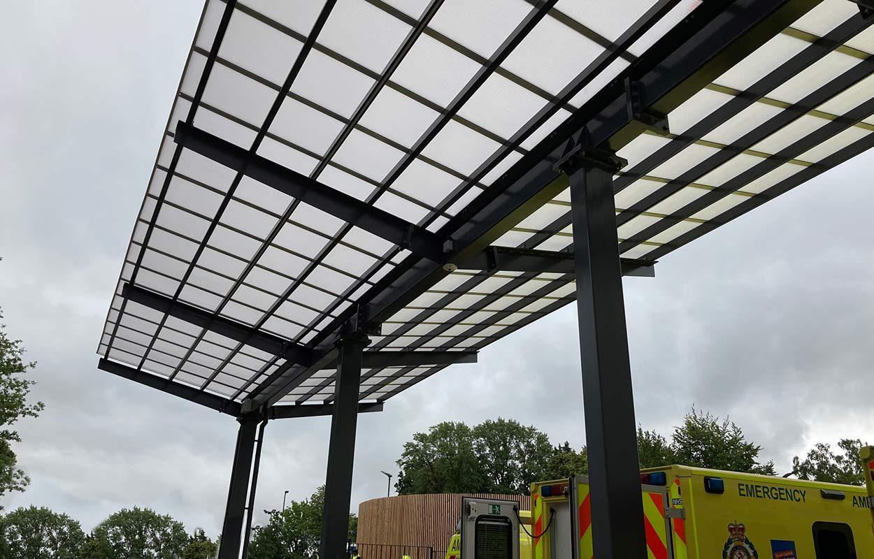 Ambulance-canopy-at-John-Radcliffe-Hospital-by-Fordingbridge-3